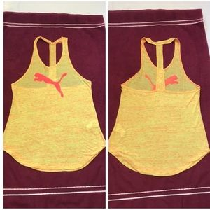 NWOT Puma lifestyle Tank Top, Yellow